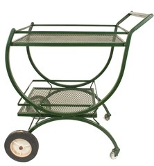 Not a great colour maybe a bright fun colour and new wheels it looks too garden work station//\patio barcart