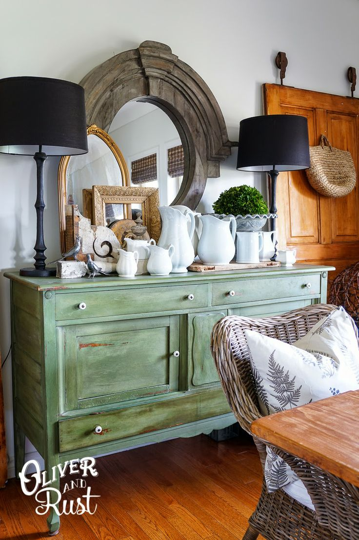 Oliver And Rust Spring Dining Room Green Yumminess Gorgeous Doors