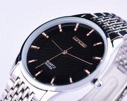 Decentné oceľové unisex hodinky s rôznymi ciferníkmi