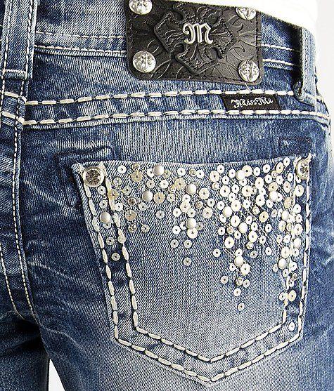 Miss Me Sequin Skinny Stretch Jean #buckle #fashion #jeans www.buckle.com