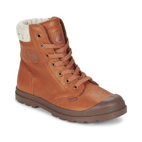 Boots+Palladium+PAMPA+KNIT+LP+Mocca+74.72+€