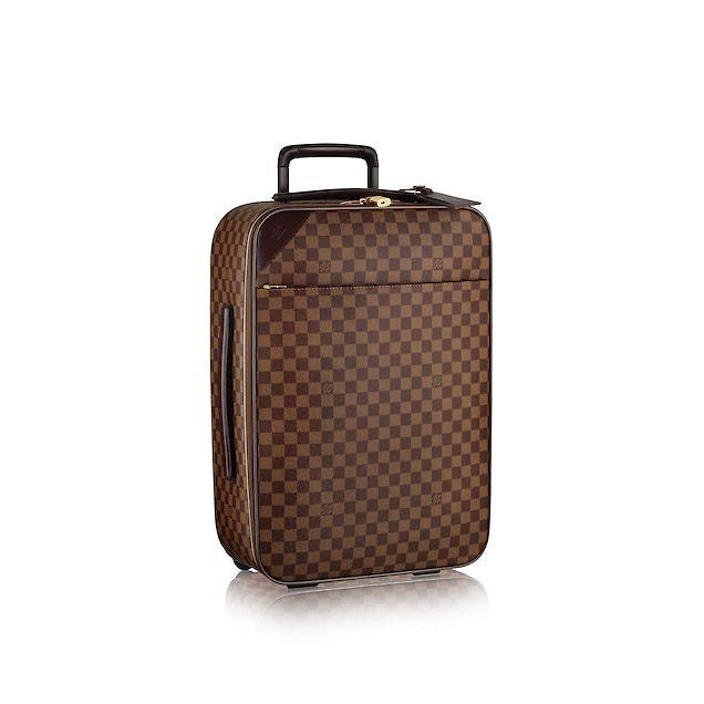 570d189156c7 Damier Ebene TRAVEL All Collections Pegase Light 55   Louis Vuitton ®