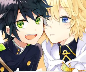 I just can't handle those two <3 (Mika & Yu-chan from Owari no Seraph)