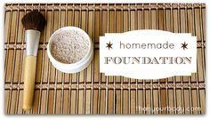 All natural homemade foundation from thankyourbody.com