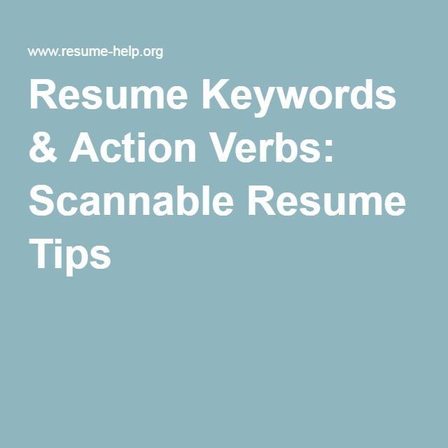 Best 25+ Resume action words ideas on Pinterest Resume key words - resume verbs list
