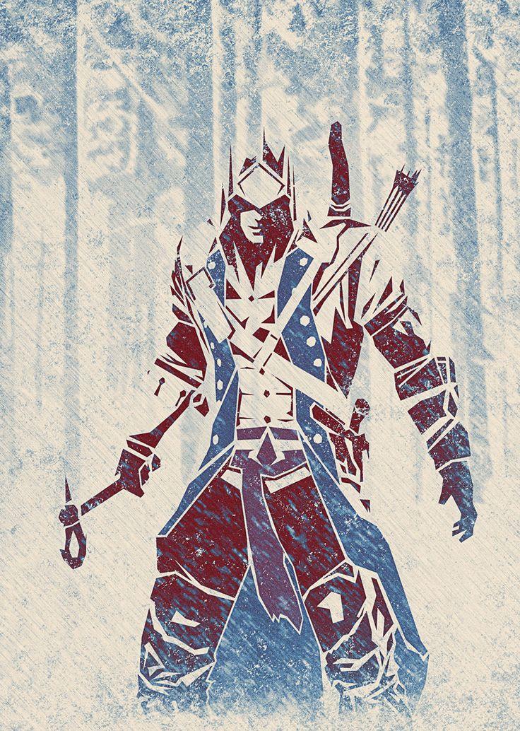 Assassin's Creed III Fan Art   Artist   berniedave