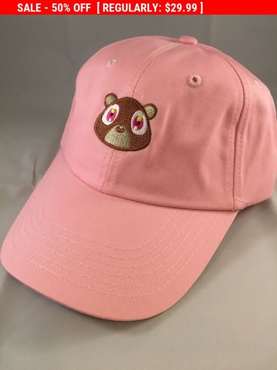 MEGA SALE!!! - LIMITED QUANTITY...PURCHASE BEFORE WE ARE OUT OF STOCK  CUSTOM EMBROIDERED KANYE BEAR HAT COLLEGE DROPOUT DAD HAT - BRAND NEW  We have over 1,700 SALES. PURCHASE WITH CONFIDENCE. ----------------------------------------------------------------------------------------------  Why buy from us?  We ship within 48 Hours from New Jersey!  Our #1 Mission is to take care of our customers and provide exceptional service. The Hat is packages and shipped in a box for protection - unlike…