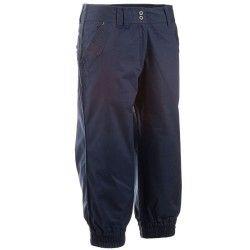 pantalón pirata mujer arpenaz 100 azul