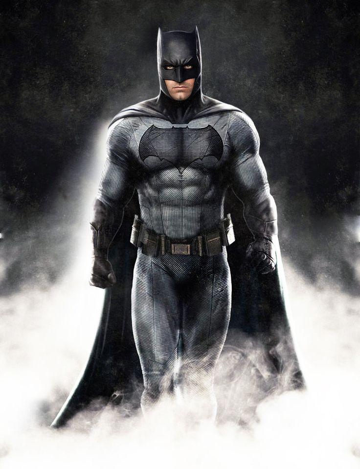 Ben Affleck As Batman by luisbury-zine-net