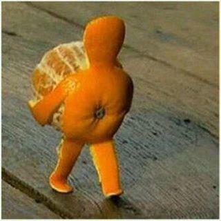Ahh jjajaja snail tangerine