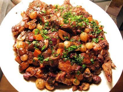 Mark Bittman's Grilled Mediterranean Chicken Thighs (bistro chicken).