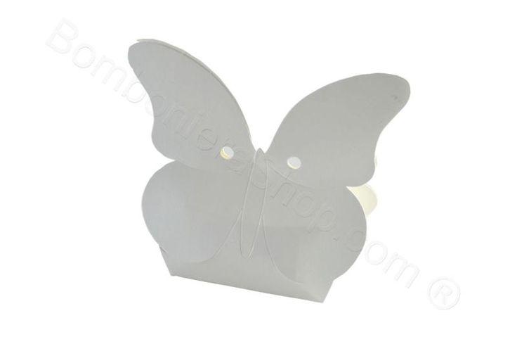 Scatolina farfalla portaconfetti bomboniera fai da te (SC)