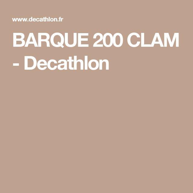 BARQUE 200 CLAM - Decathlon