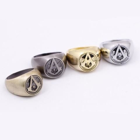 ASSASSIN'S CREED Assassin Emblem Ring //Price: $8.95 & FREE Shipping //     #manga #animes #movie #onlinestore #fans #movies