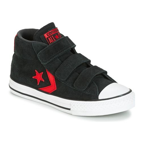 Converse - STAR PLAYER EV V STAR PLAYER SUEDE MID BLACK/STORM WIND/CASINO