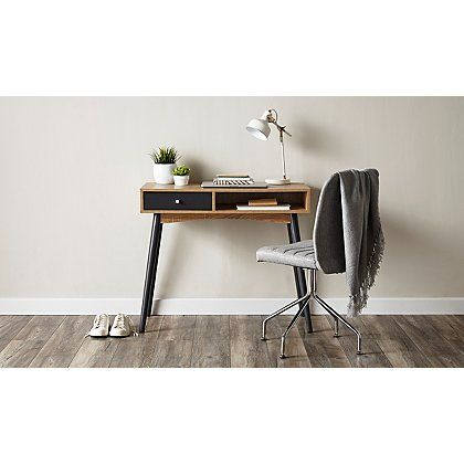 George Home Oak Effect Desk | Home & Garden | George at ASDA