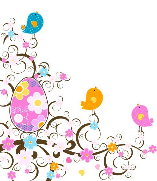 Tubes paques d cor pinterest fleur ufs et p ques for Decoration paques