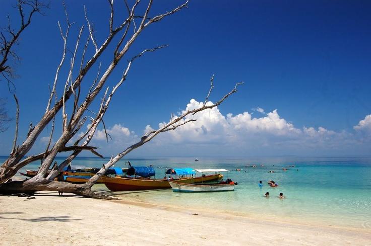 Elephant beach, Havelock, Andaman Nicobar Islands, India.