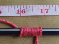 Como descobrir o peso do fio
