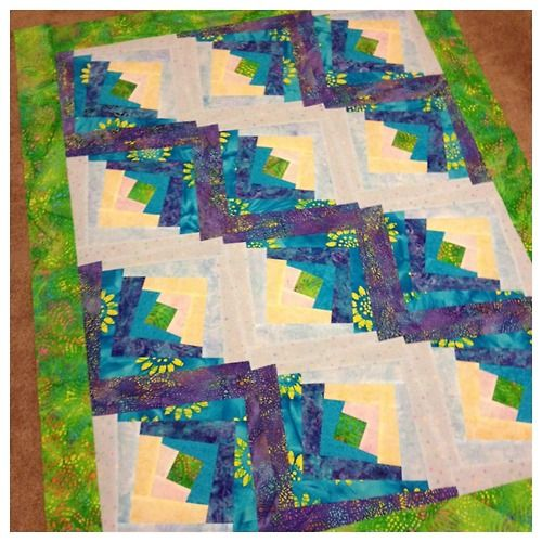 Quilting Posts And Cabin On Pinterest