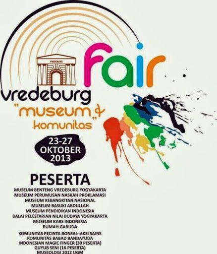 Vredeburg Fair 2013 http://bit.ly/16sfQEt