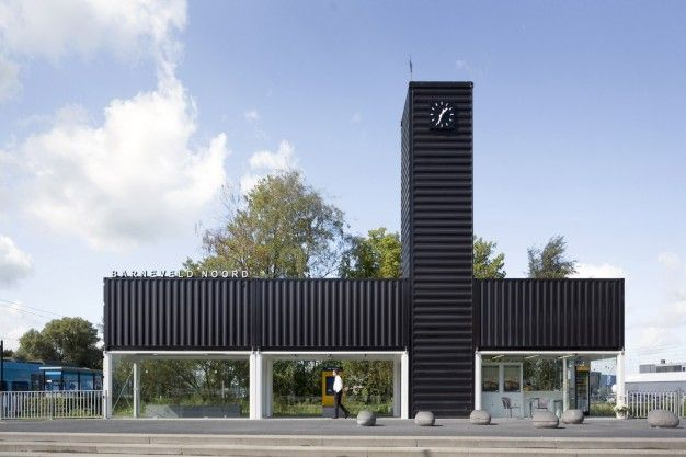 Barneveld Noord station by NL Architects // Utrecht | FUTU.PL