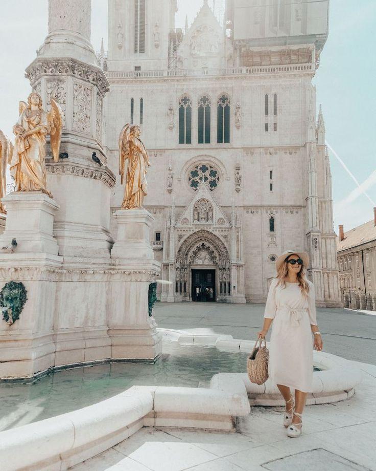 Best Instagram Spots In Zagreb Croatia Zagreb Cathedral Croatia Travel Zagreb Croatia Croatia