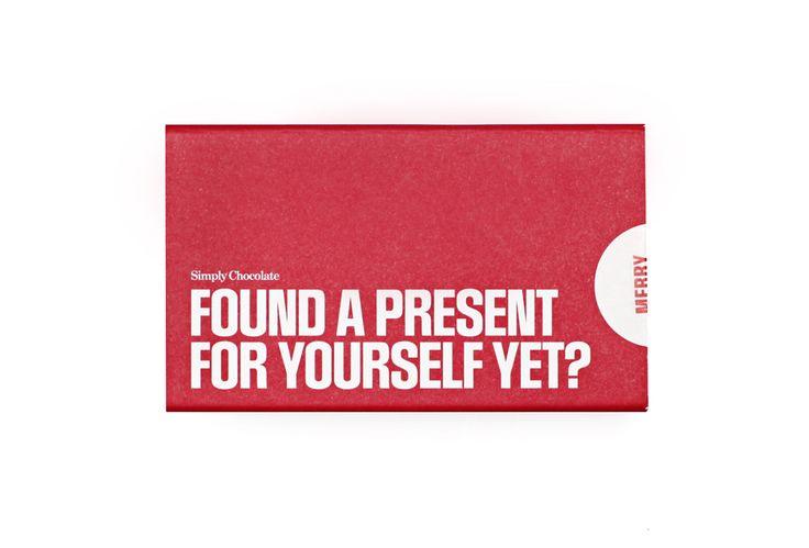 @simplychocolate #madeincopenhagen #Christmas #Chocolate #Foundapresentforyourselfyet? #design #packaging