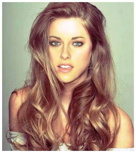 I love her look in this photo...brunette hair spring trends 2014 | Hair Colors 2014 Hair Colors And Styles