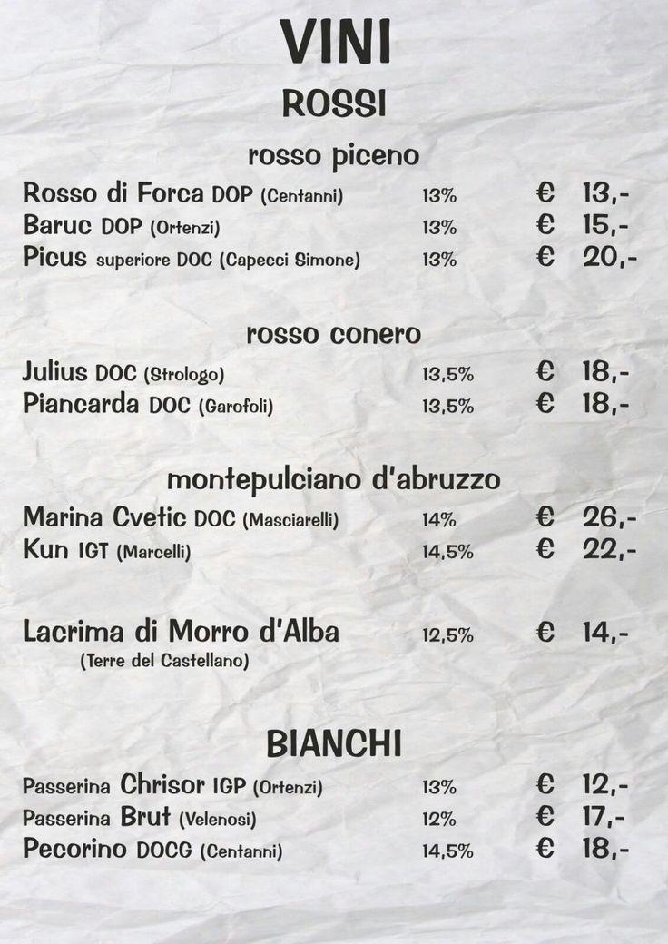 La carta dei vini 🍷  #arrosticiamo #elapecoracammina #arrosticini #vino #menù #pse