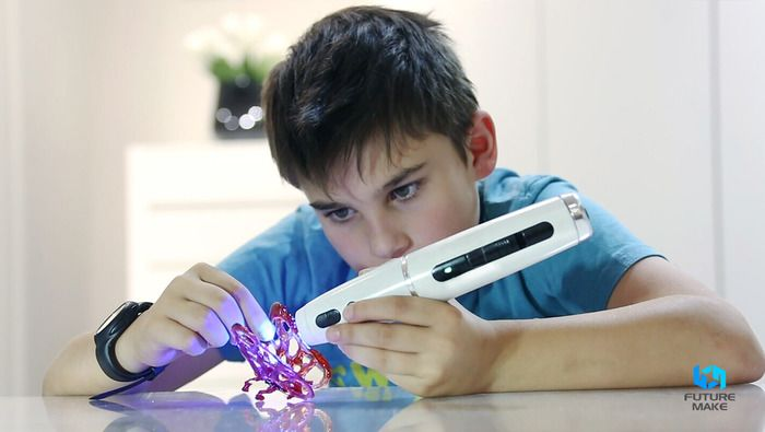 Polyes Q1: The Safest, Cool-Ink 3D Pen with Child-Friendly Features by FUTURE MAKE — Kickstarter