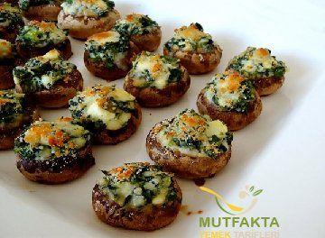 Ispanaklı Mantar Tarifi | Mutfakta Yemek Tarifleri