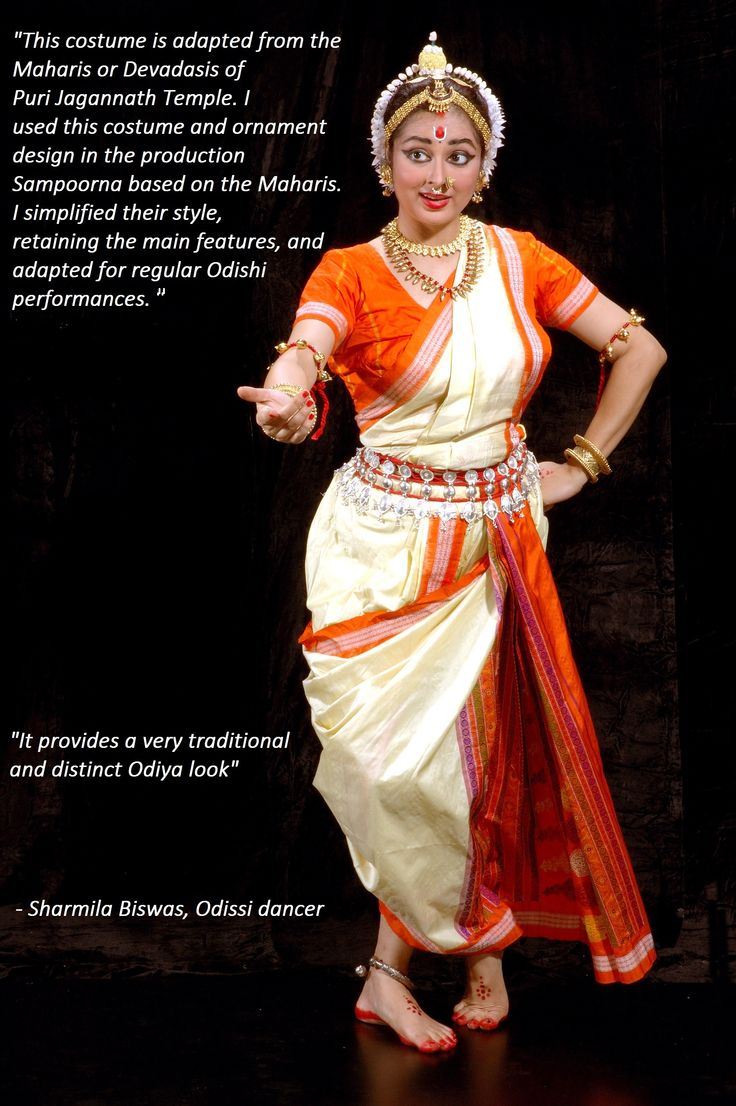 Sharmila Biswas on her innovative use of sari in Odissi