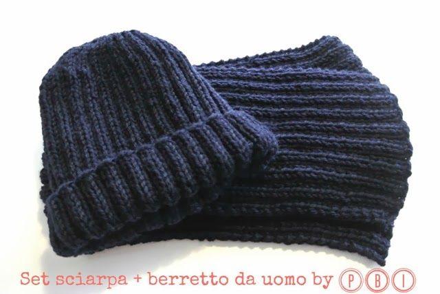 SET SCIARPA E CAPPELLO DA UOMO
