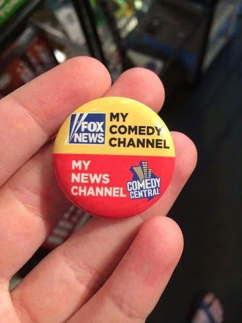 My Comedy vs. News Channel