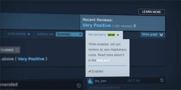 Valve still trying to stop Steam user review manipulation