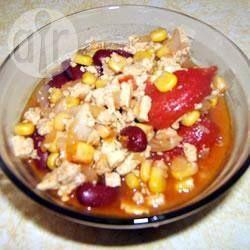 Foto recept: Veganistische tofu-chili