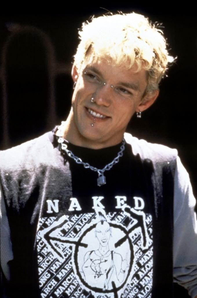 Matthew Lillard... more so in piercings