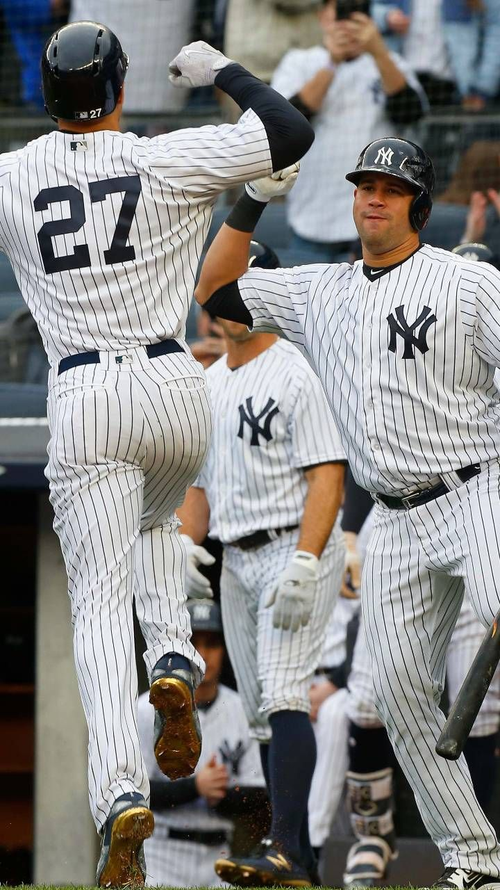 Image result for giancarlo stanton yankees wallpaper. Find this Pin and more on 2018 new york ...