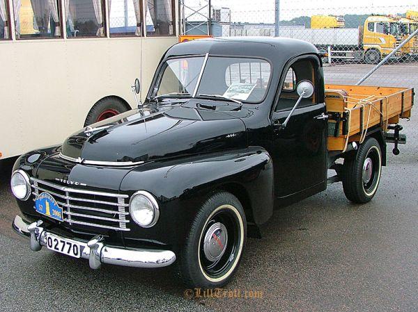 Volvo 445 pickup, 1957.