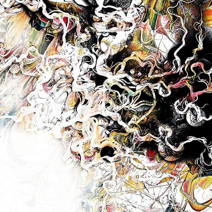 Broken Colour (Johan Halldin 2014) Mixed media
