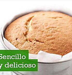 Receta de pastel de vainilla, fácil de preparar en casa