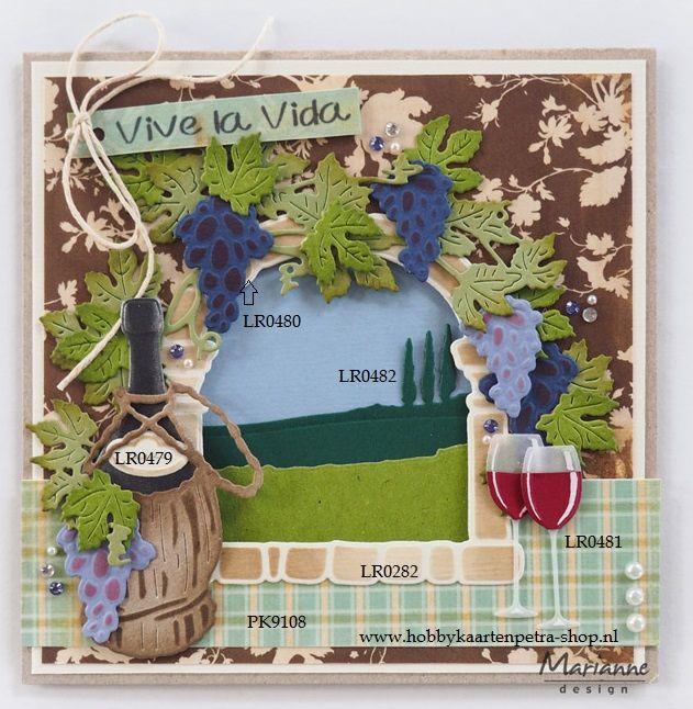 Creatables LR0480 Tiny's vines   Pre order: MD augustus 2017   Hobbykaartenpetra
