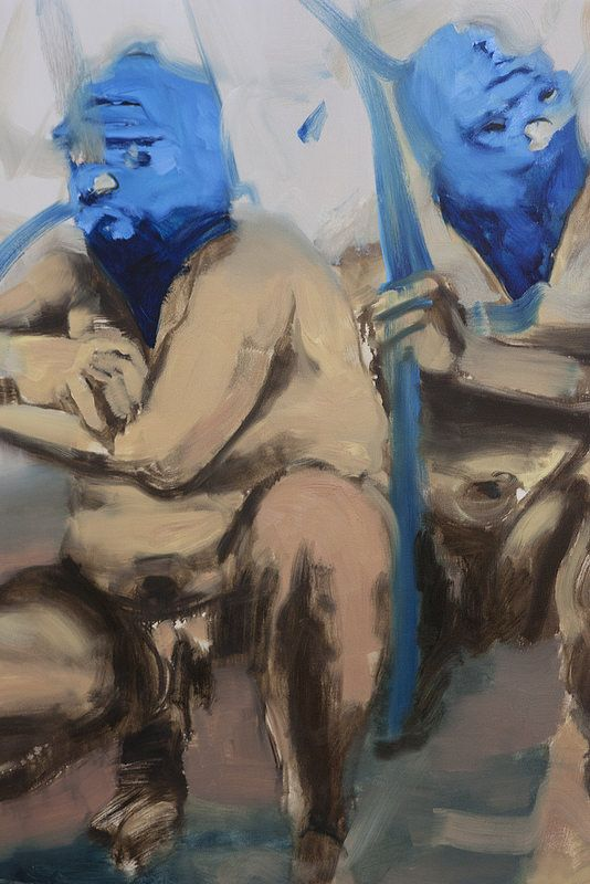 Othello II, (detail)  Artista: Bartosz Beda, óleo sobre lienzo, 153x153, 2014  Artist: Bartosz Beda, oil on canvas, 153x153, 2014  #art #arte #contemporaryartwork #pintura #paint #bac #dibujo #drawing