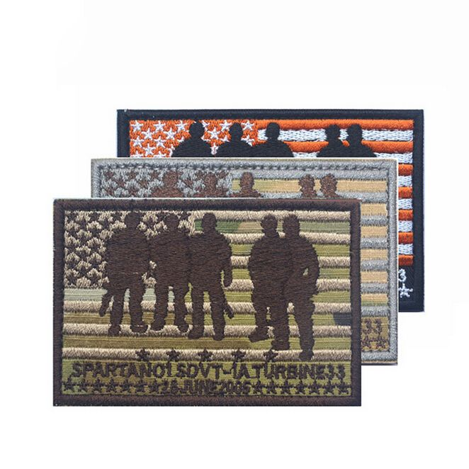 9*6CM Mark SEAL TEAM Operation Red Wings Lone Survivor Spartan 01 SDVT-1A STICK-ON Patch #Affiliate