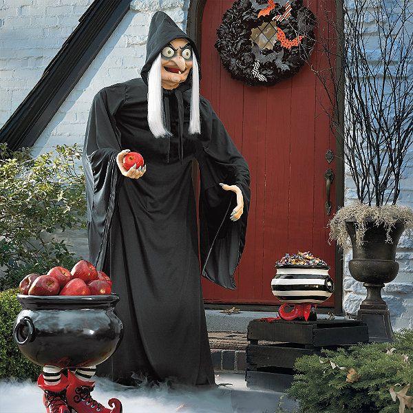 life size snow white old hag figure grandin road