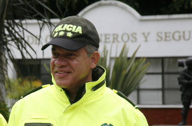Nuestro Director General, mayor general José Roberto León Riaño.