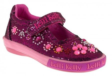 Lelli Kelly Rachele Pink Glitter Shoes