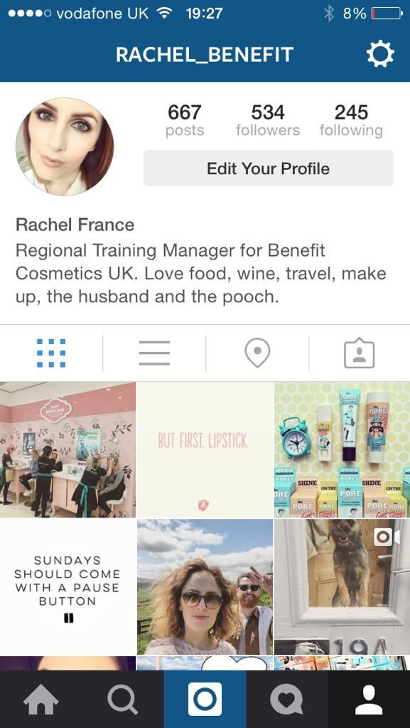 Follow me on Instagram for #lifeatbenefit in pictures.