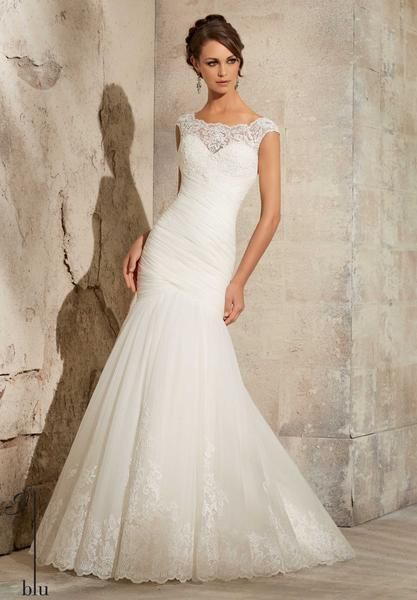 Blu - 5305 - All Dressed Up, Bridal Gown - Morilee - Chattanooga TN's All Dressed Up Bridal Shop / Bridal Boutique offers Wedding Gowns, Prom Dresses & Tuxedo Rentals